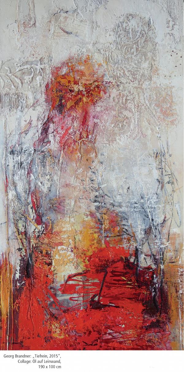 """Tieferin, 2015"" 190 x 100 cm"