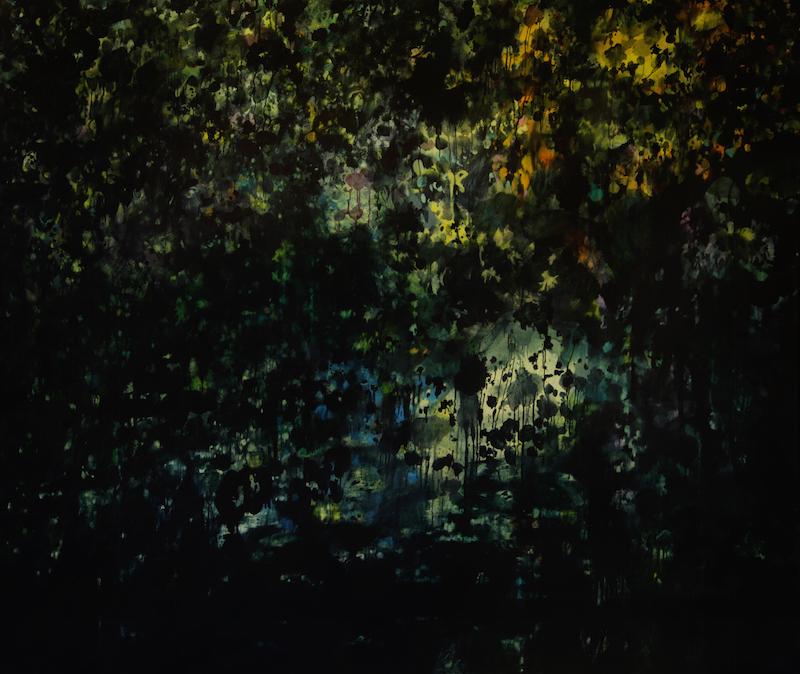 """""""Garden"""" 190 x 160 cm"""