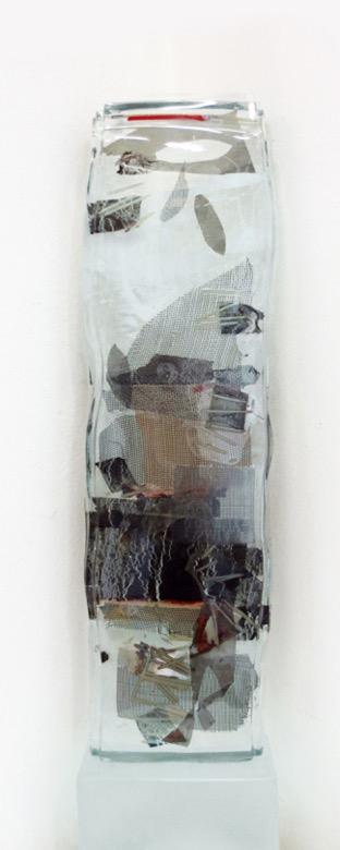 """Herbstlaub, 2013"" 66 x 15 x 4 cm"