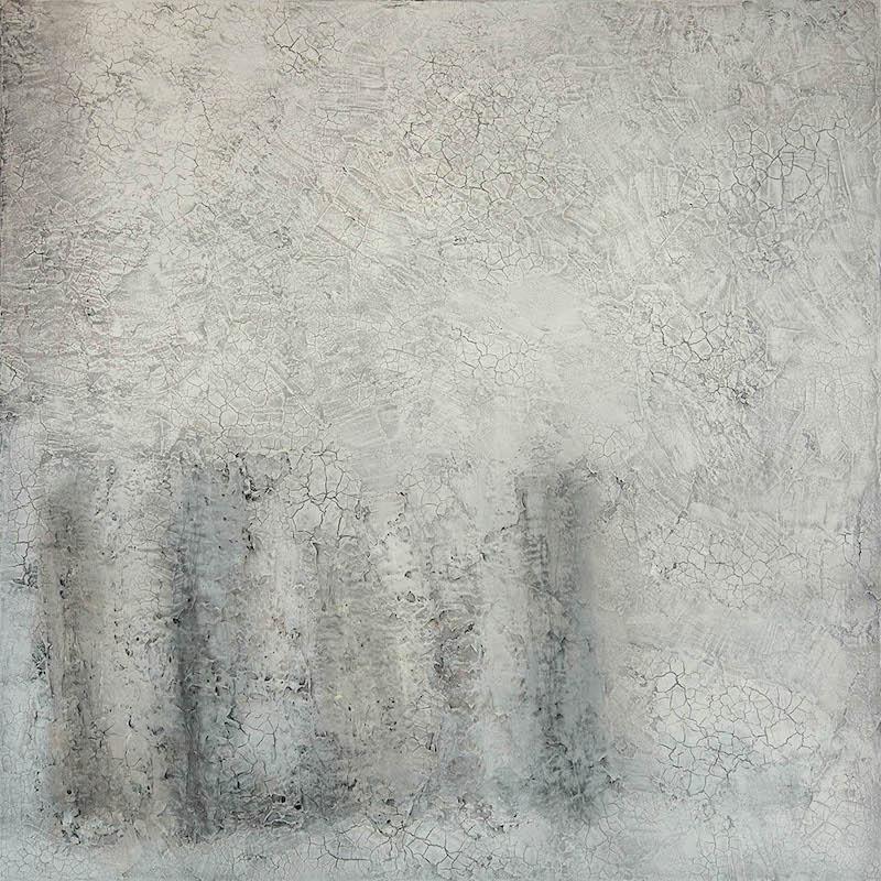 Still Life White 2014 80 x 80 cm